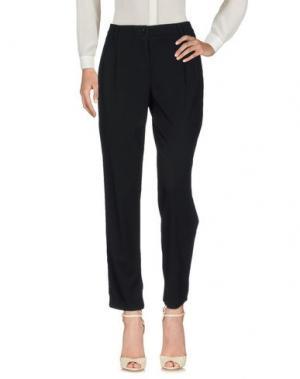 Повседневные брюки BARONI. Цвет: черный