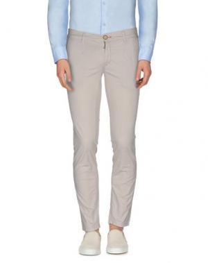 Повседневные брюки JULIAN KEEN. Цвет: бежевый