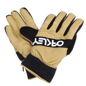 Перчатки сноубордические  Factory Winter Glove Army Khaki Oakley. Цвет: бежевый,черный