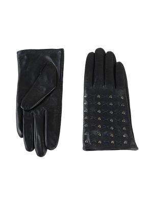Перчатки женские Piero. Цвет: темно-синий