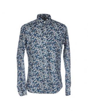 Pубашка RRD. Цвет: пастельно-синий