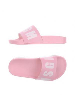 Сандалии MSGM. Цвет: розовый
