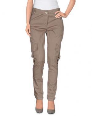 Повседневные брюки SARAH JACKSON. Цвет: серый