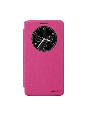 LG G4 Stylus Nillkin Sparkle Leather Case. Цвет: красный