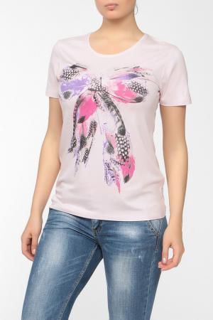 Блузка Felicita. Цвет: розовый