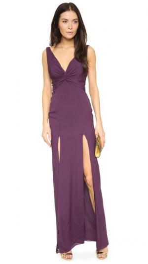 Вечернее платье Charlize Katie May. Цвет: сливовый