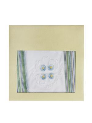 Платки носовые ZLATA KORUNKA. Цвет: серо-зеленый, серый