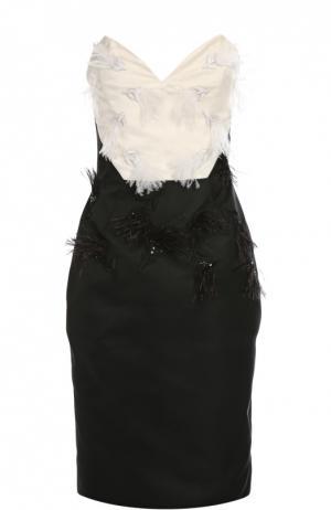 Платье Prabal Gurung. Цвет: черно-белый