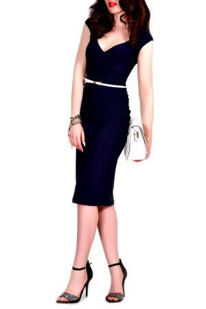 Платье MONT PELLIER. Цвет: темно-синий