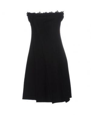 Короткое платье GUARDAROBA BY ANIYE. Цвет: черный