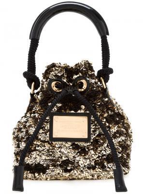 Mini Noe Rococo tote Louis Vuitton Vintage. Цвет: металлический