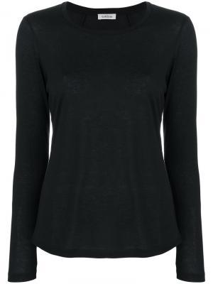 Long sleeved T-shirt Toteme. Цвет: чёрный