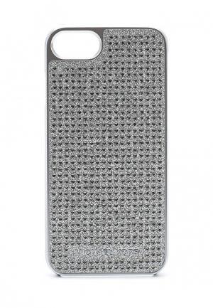 Чехол для iPhone Michael Kors. Цвет: серебряный