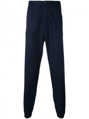 Спортивные брюки Kung Fu Bleu De Paname. Цвет: синий