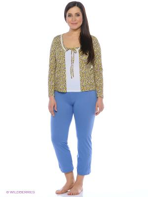 Комплект Milana Style. Цвет: голубой