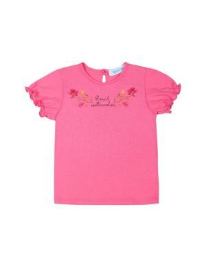 Футболка Бимоша. Цвет: розовый