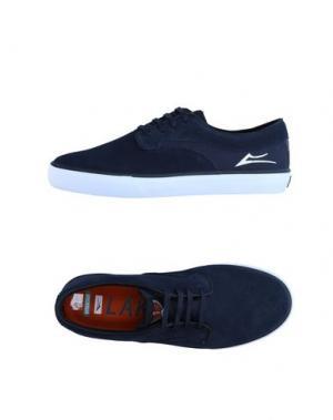 Низкие кеды и кроссовки LAKAI. Цвет: темно-синий