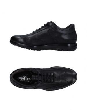 Обувь на шнурках MELLUSO. Цвет: черный