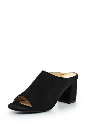 Сабо Max Shoes. Цвет: черный