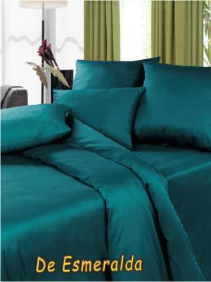 Постельное белье Диана. Цвет: зеленый