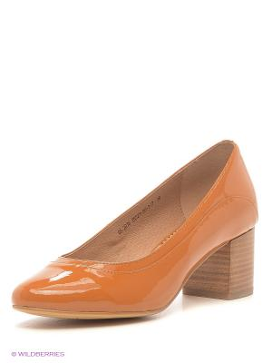 Туфли Lisette. Цвет: оранжевый