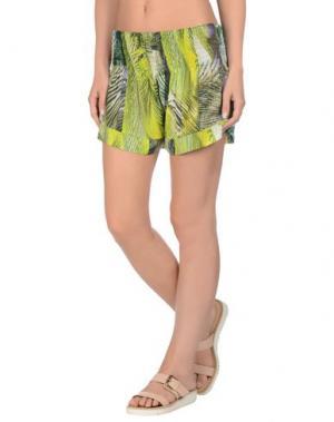 Пляжные брюки и шорты MISS BIKINI. Цвет: кислотно-зеленый