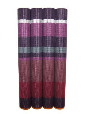 Плейсмат, 4 шт DiMi. Цвет: фиолетовый