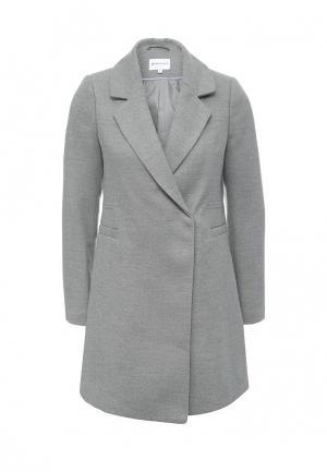 Пальто Warehouse. Цвет: серый