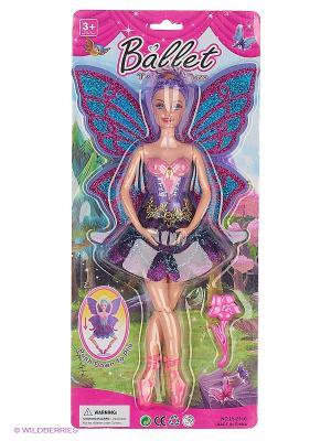 Кукла 35см VELD-CO. Цвет: сиреневый
