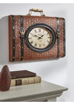 Настенные часы Heine Home. Цвет: красно-коричневый/коричневый