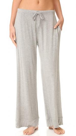 Домашние брюки Skin. Цвет: серый меланж