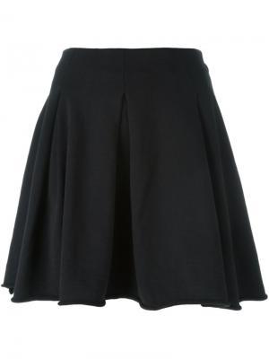 Плиссированная юбка Thom Krom. Цвет: чёрный