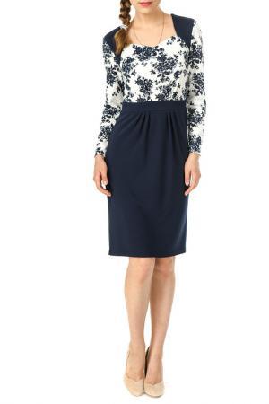 Платье Олмис. Цвет: синий