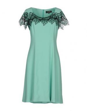 Короткое платье MARTA PALMIERI. Цвет: светло-зеленый