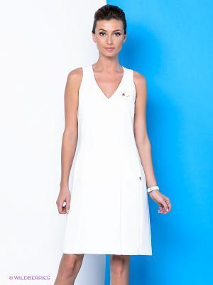 Платье River Woods. Цвет: белый