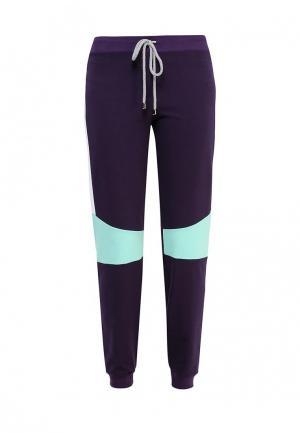 Брюки спортивные Dali. Цвет: фиолетовый