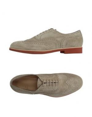 Обувь на шнурках SUTOR MANTELLASSI. Цвет: бежевый