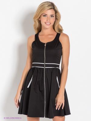Платье Ruck&Maul. Цвет: черный