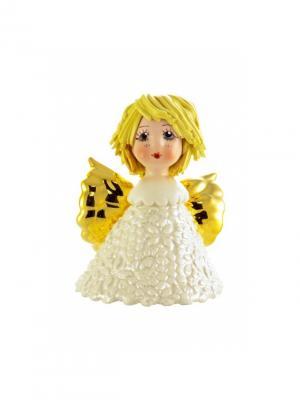 Статуэтка АНГЕЛ Zampiva. Цвет: белый, желтый, золотистый