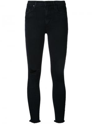 Джинсы Cult Skinny Ankle Trouble Nobody Denim. Цвет: синий