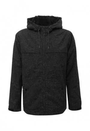 Куртка утепленная Quiksilver. Цвет: серый