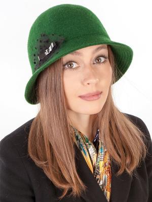 Шляпка LORICCI. Цвет: зеленый