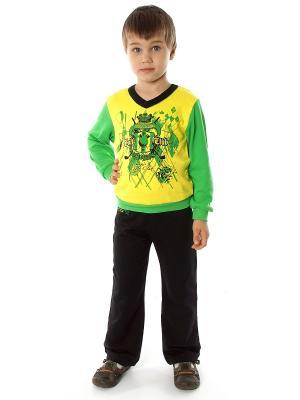 Комплект одежды для мальчика Апрель. Цвет: черный, зеленый, желтый