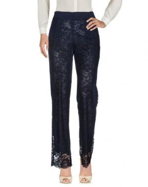 Повседневные брюки MARTA PALMIERI. Цвет: темно-синий