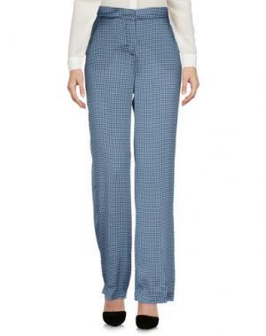 Повседневные брюки KI6? WHO ARE YOU?. Цвет: небесно-голубой