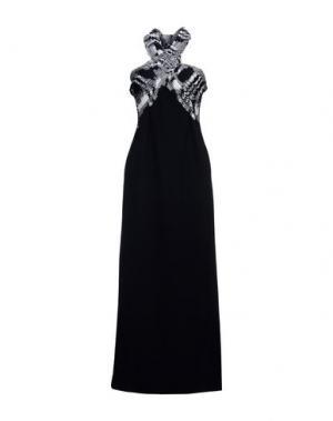 Длинное платье M MISSONI. Цвет: черный