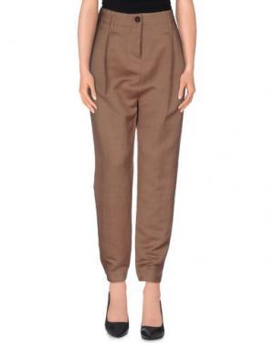 Повседневные брюки AVELON. Цвет: кирпично-красный