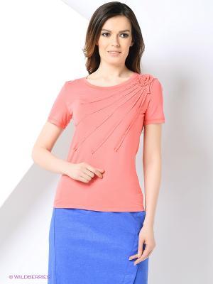 Блуза PRIZZARO. Цвет: малиновый