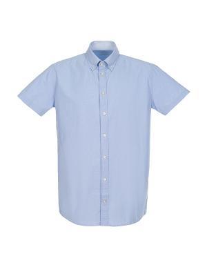 Рубашка Pre End (Дания) 35-100140. Цвет: голубой