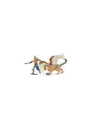 Воин с грифоном SCHLEICH. Цвет: золотистый, серый